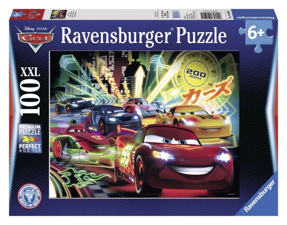 Ravensburger pusle Cars 100 tk