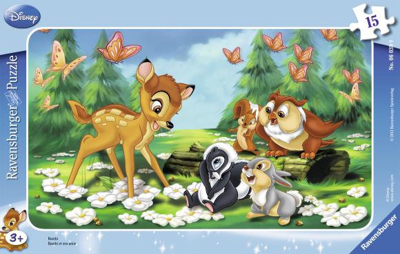 Ravensburger plaatpusle Bambi 15 tk