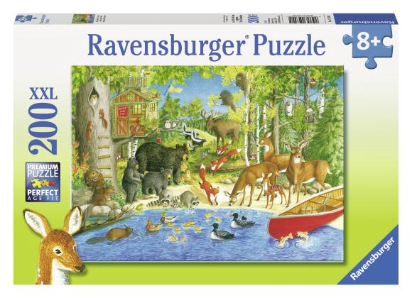 Ravensburger pusle Loomade elu 200 tk