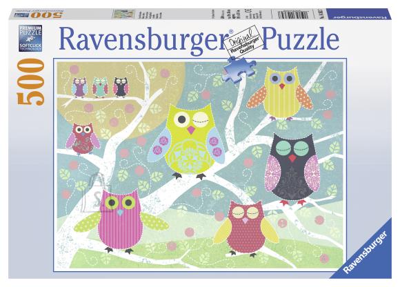 Ravensburger pusle Öökullid 500 tk