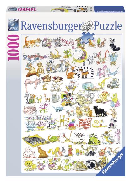Ravensburger pusle 101 kassi 1000 tk