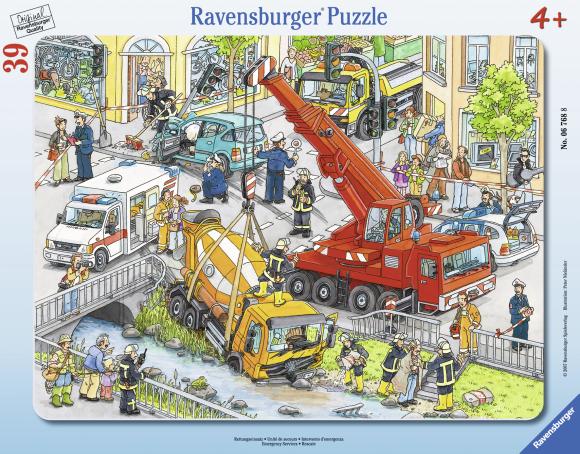 Ravensburger plaatpusle Päästeoperatsioon 39 tk