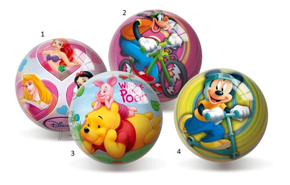 Smoby kummipall Disney 10 cm