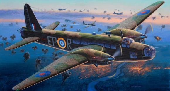Revell mudellennuk Vickers Wellington Mk.II 1:72