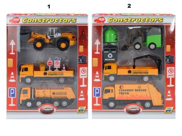 Simba tööautode mängukomplekt