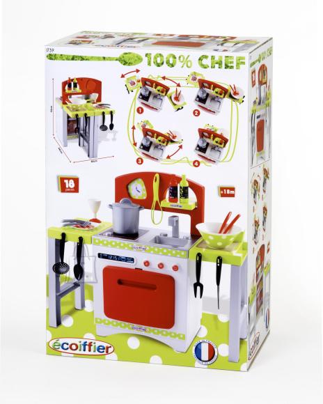 Ecoiffier mänguköök Chef