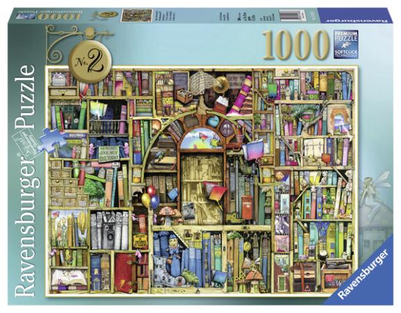 Ravensburger pusle Bizarre raamatupood nr.2 1000 tk