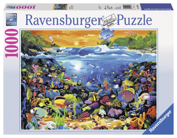 Ravensburger pusle Veemaailm 1000 tk