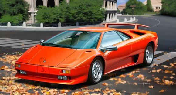 Revell mudelauto Lamborghini Diablo VT 1:24