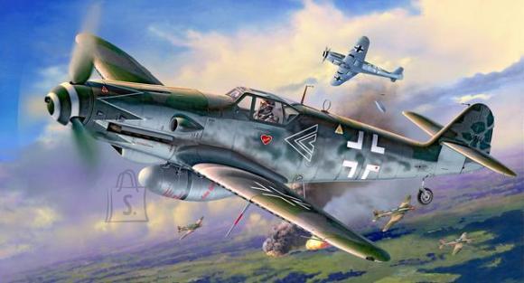 Revell mudellennuk Messerschmitt Bf109 G-10 Erla Bubi Hartmann 1:32