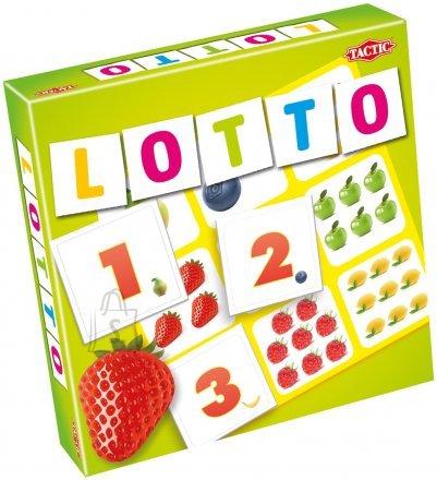 Tactic lauamäng numbrite ja puuviljadega Loto