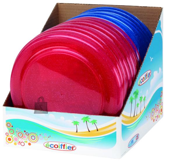 Ecoiffier sädelev lendav taldrik