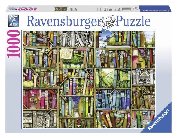 Ravensburger pusle Bizarre Raamatupood 1000 tk