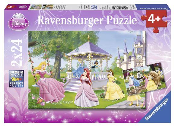 Ravensburger pusle Disney Printsess 2x24 tk