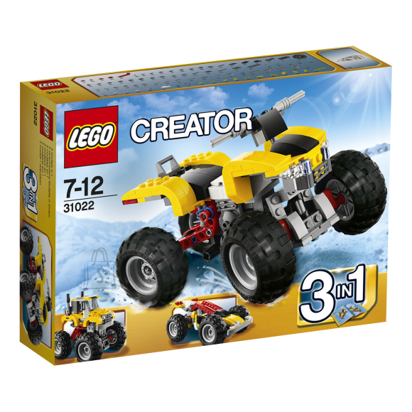 LEGO komplekt Creator Turbo ATV