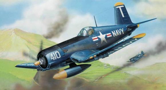Revell mudellennuk F 4U-5 Corsair 1:72