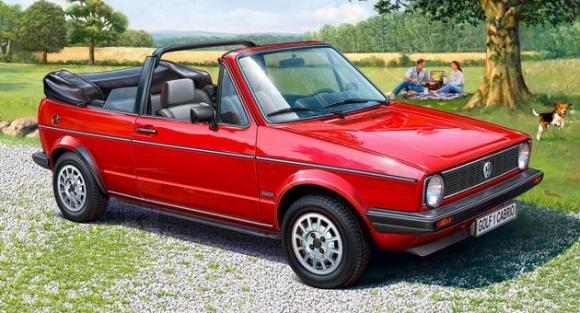 Revell mudelauto VW Golf 1 Cabriolet 1:24