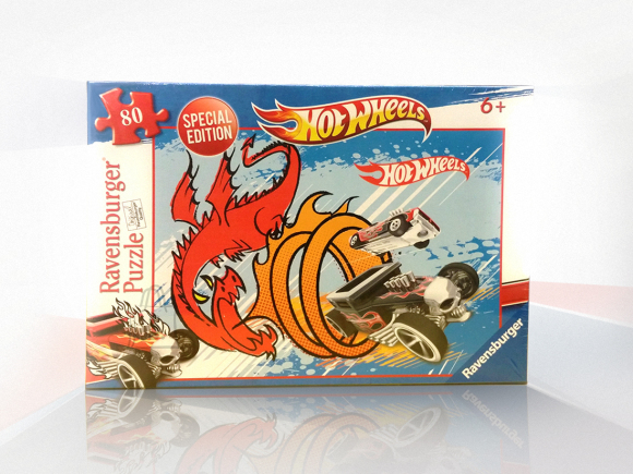 Ravensburger pusle Hot Wheels 80 tk