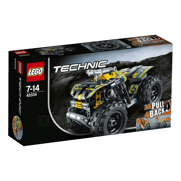 LEGO Technic 4-rattaline motikas
