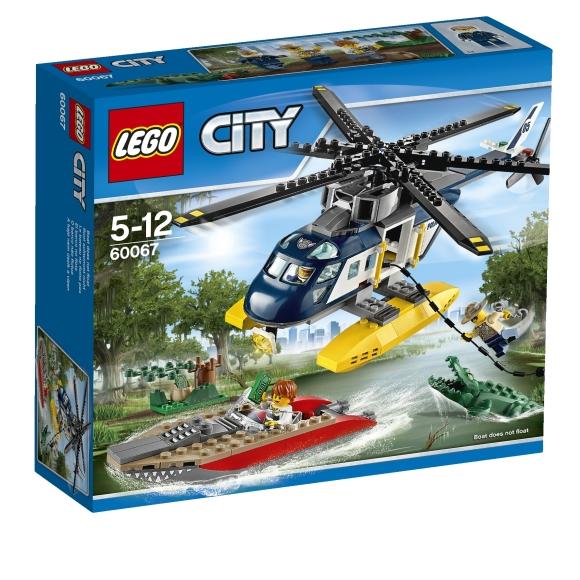 LEGO City Tagaajamine helikopteriga