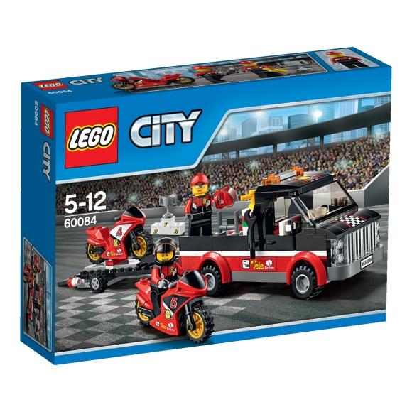 LEGO City Võidusõiduratta vedaja