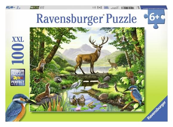 Ravensburger pusle 100 tk