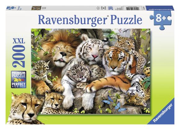 Ravensburger pusle Kaslaste uinak 200 tk