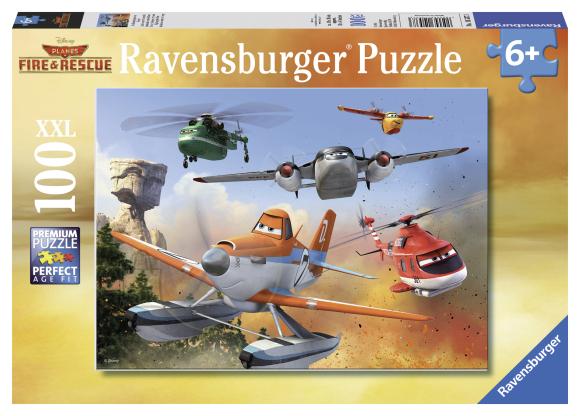 Ravensburger pusle Lennukid 100 tk