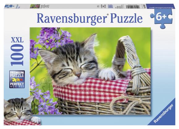 Ravensburger pusle Magav kiisu 100 tk