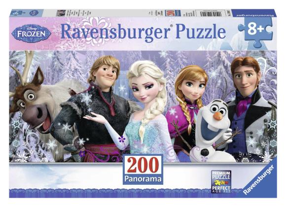 Ravensburger pusle Lumekuninganna 200 tk