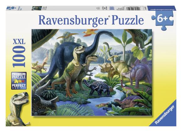 Ravensburger pusle Dinosaurused 100 tk