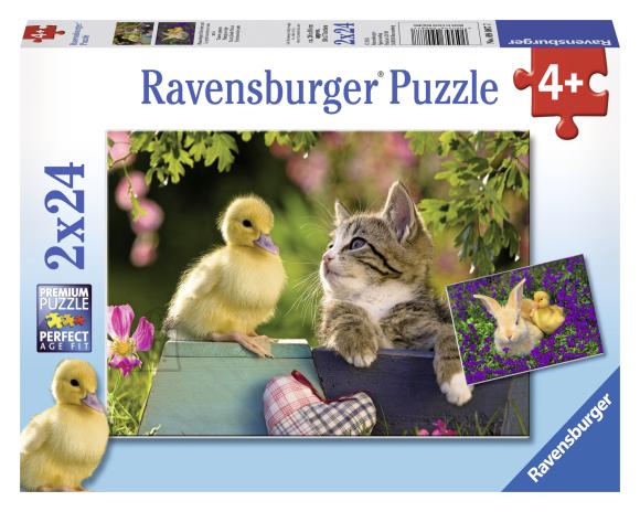 Ravensburger pusle Parimad sõbrad 2 x 24 tk