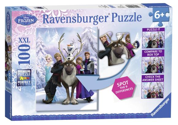 Ravensburger pusle Lumekuninganna 100 tk