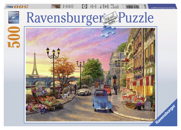 Ravensburger pusle Õhtu Pariisis 500 tk