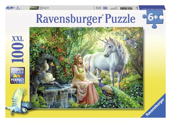 Ravensburger pusle Princess ja Ükssarv 100 tk