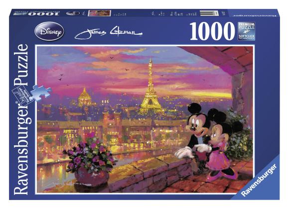 Ravensburger pusle Päikesetõus Pariisis 1000 tk