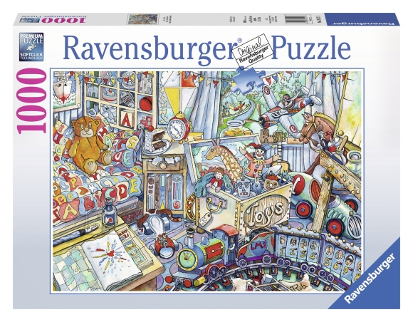 Ravensburger pusle Mänguasjad 1000 tk