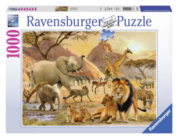 Ravensburger pusle Aafrika metsik elu 1000 tk