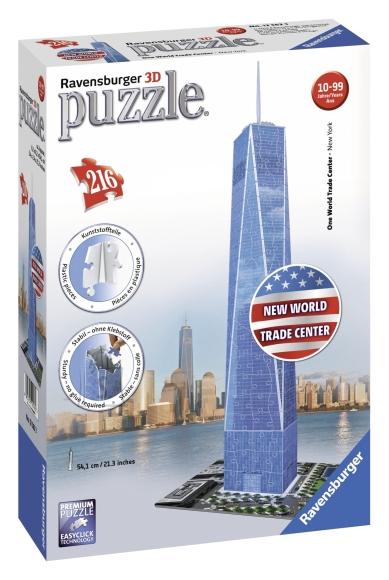 Ravensburger 3D pusle WTC 216 tk