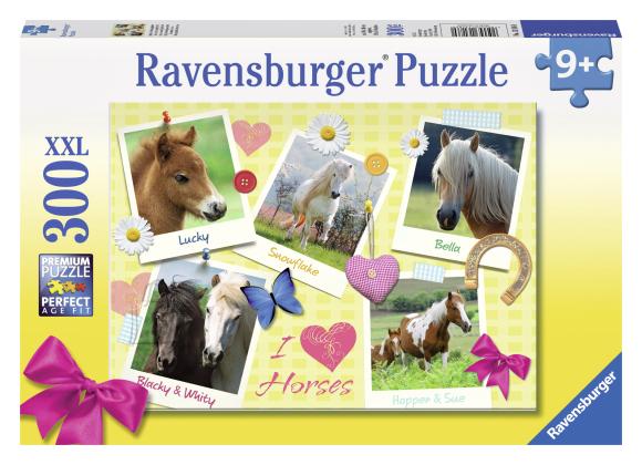 Ravensburger pusle Lemmikhobused 300 tk