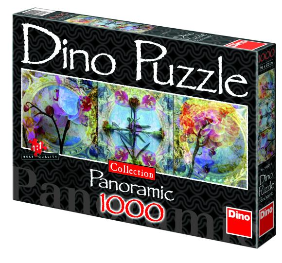 Dino panoraampusle Lilled 1000 tk