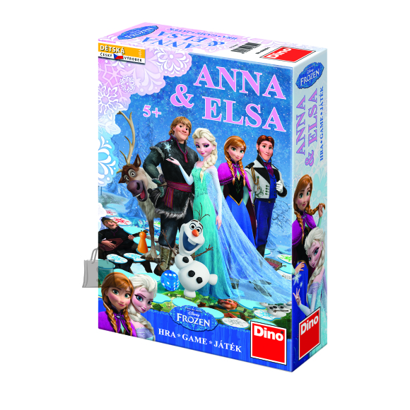 Dino lauamäng Anna Elsa