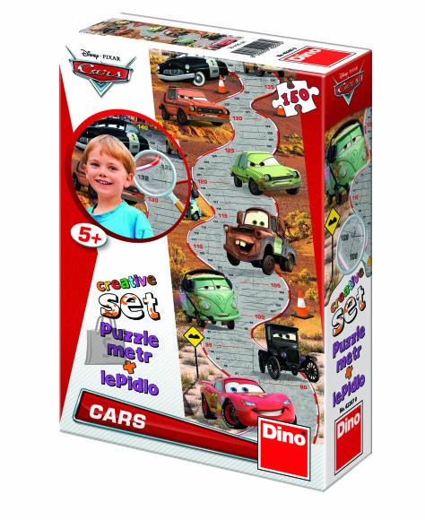 Dino pusle mõõdupuu Cars 150 tk