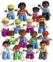 LEGO Education Eri rahvuste minifiguuride komplekt