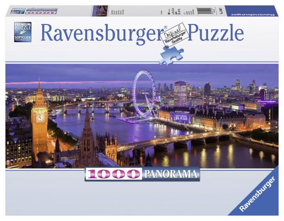Ravensburger panoraampusle London 1000 tk