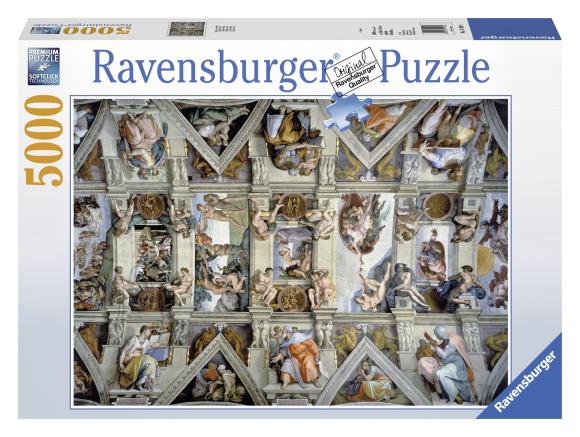 Ravensburger pusle Sixtuse kabel 5000 tk