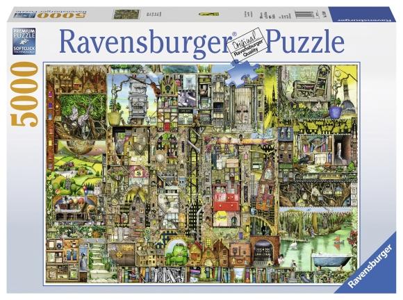 Ravensburger pusle Bizarre 5000 tk