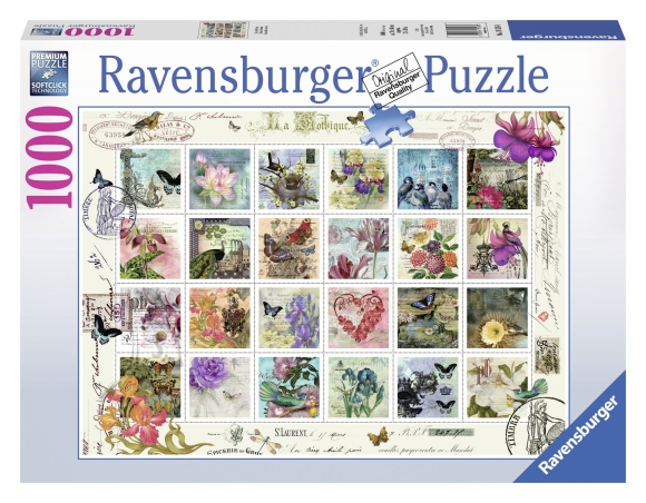 Ravensburger pusle Vanaaegsed postmargid 1000 tk