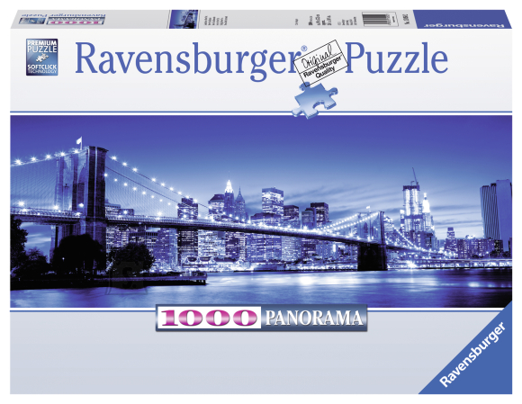 Ravensburger panoraampusle New York 1000 tk