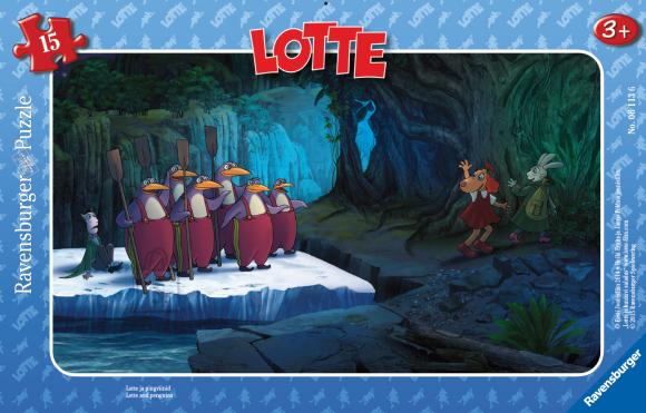Ravensburger plaatpusle Lotte 15 tk